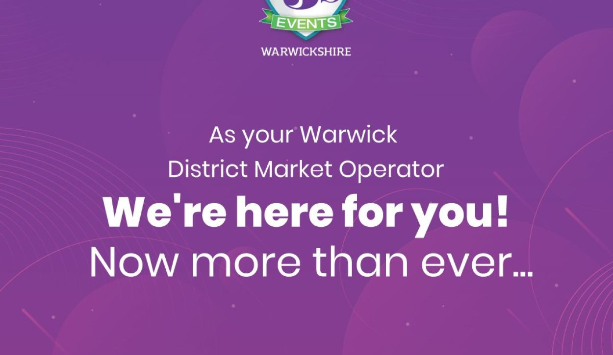 Local markets across Warwick District remain open for business