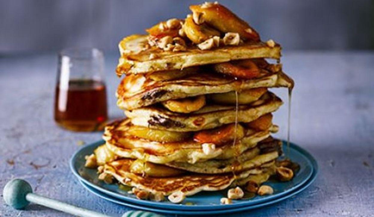 Pancake Day - Chocolate Filled