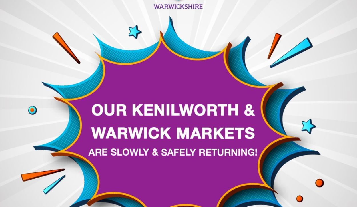 Markets in Warwick and Kenilworth set to relaunch