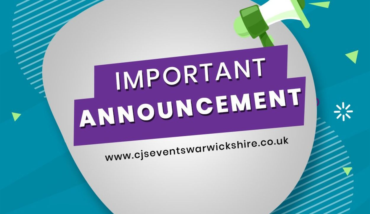 CJ's Events Warwickshire have taken the decision to cancel Southam market because 40mph gusts tomorrow, February 11th 2020.