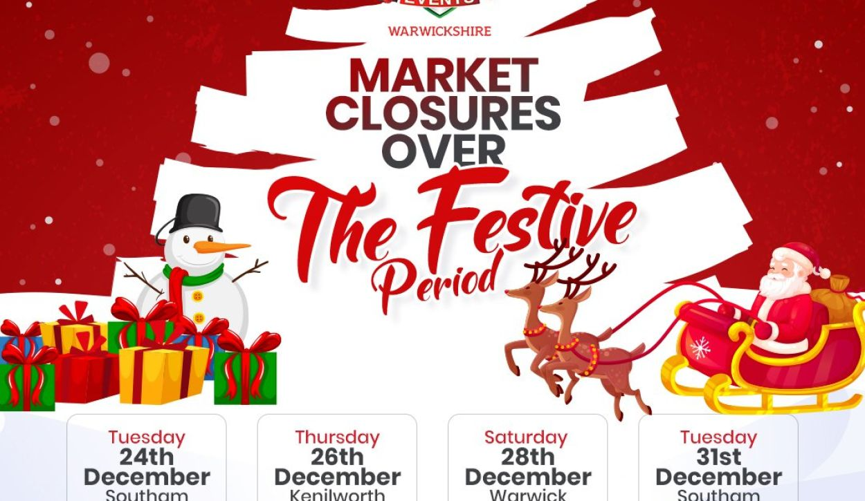 Market Closures over the Festive Period