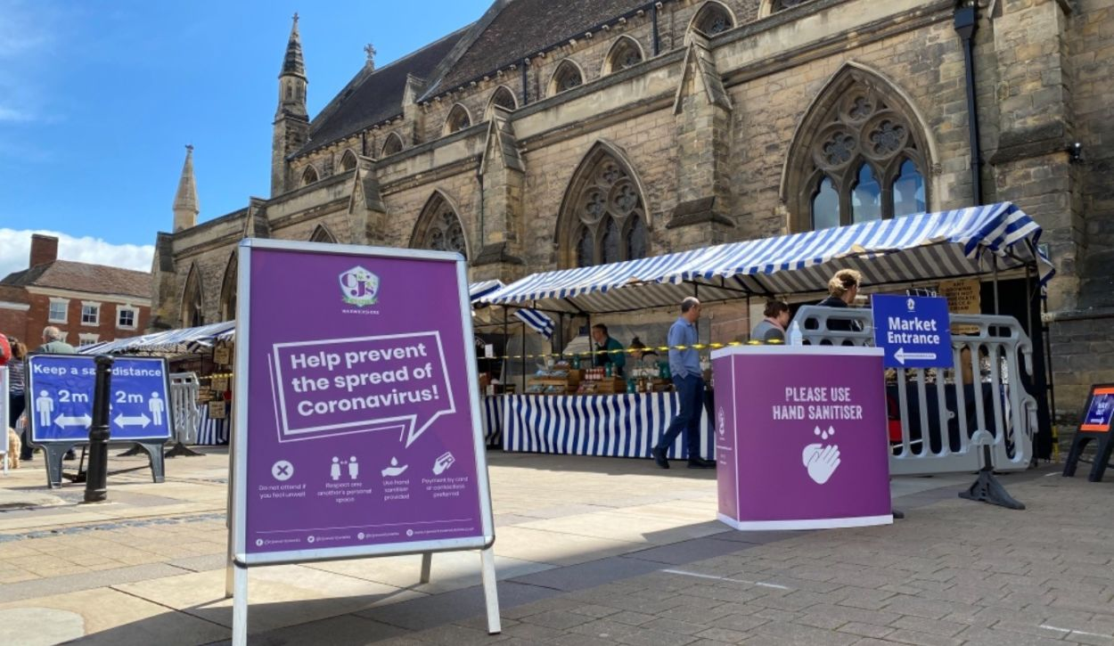 CJ's Events Warwickshire awarded 5 year contract to operate Lichfield Producers' Market