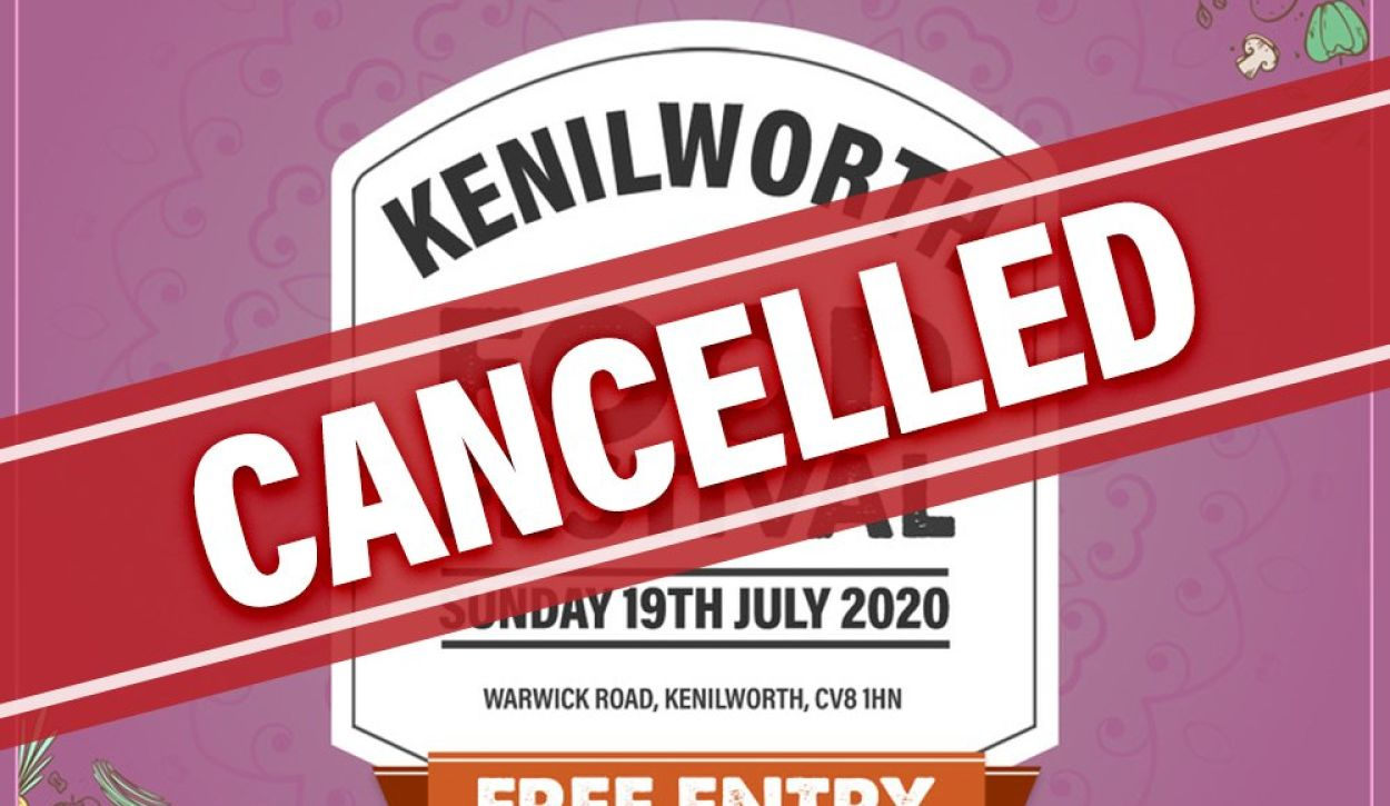 Kenilworth Food Festival Cancelled due to COVID-19