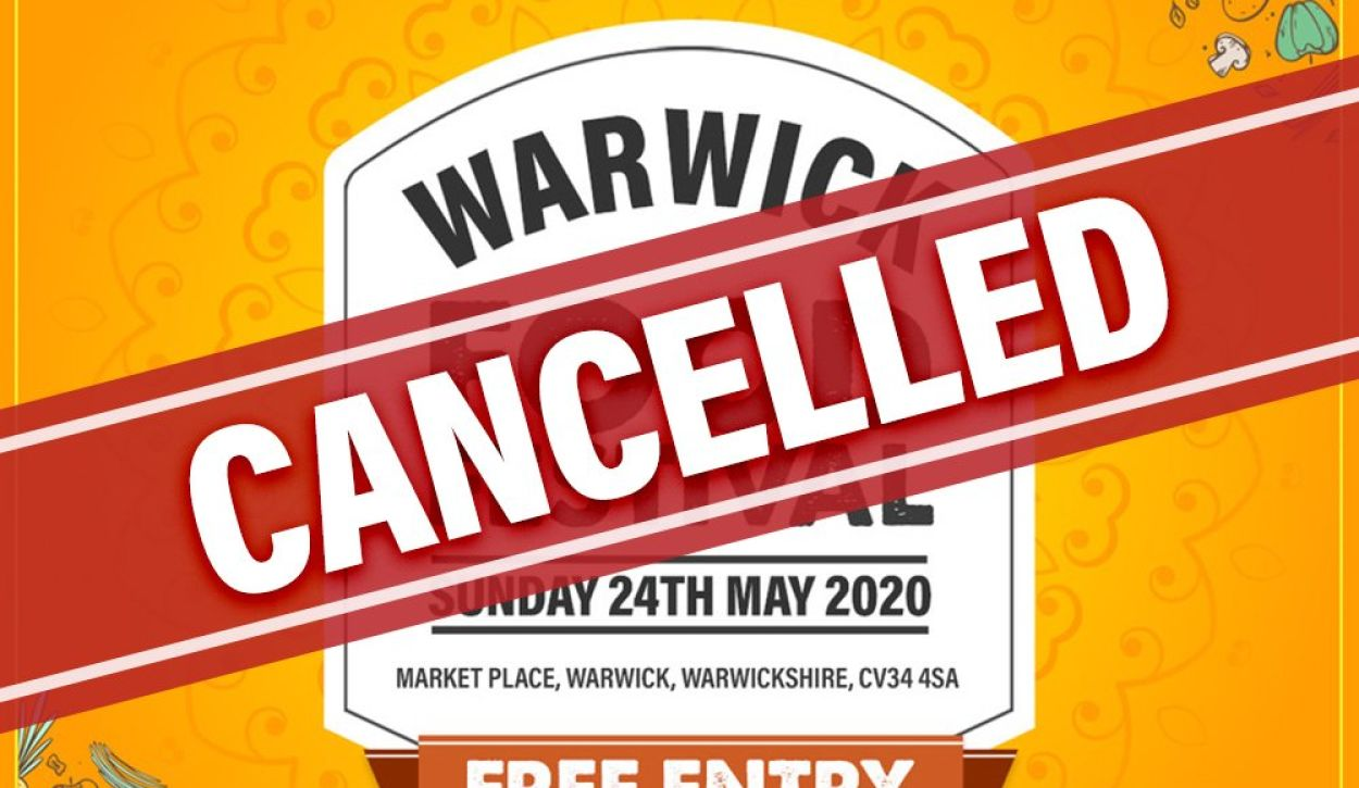 Warwick Food Festival Cancelled due to COVID-19