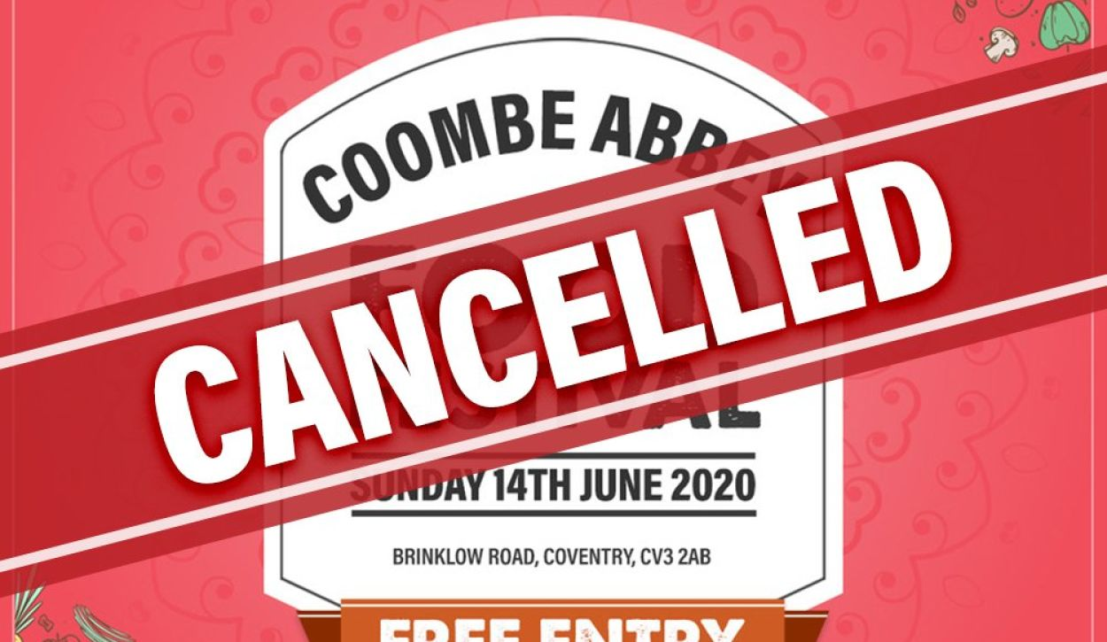 Coombe Abbey Food Festival Cancelled due to COVID-19