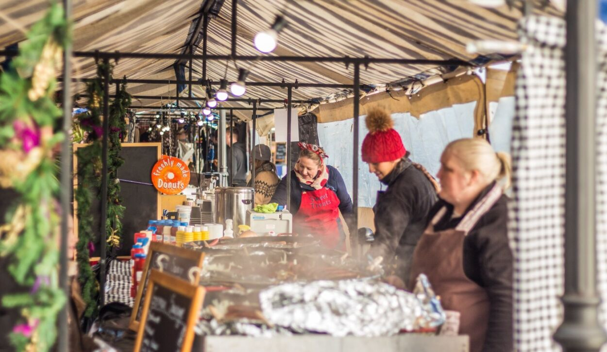 Revamped autumn and Christmas Leamington markets are 'aimed at supporting businesses in the town' says organiser