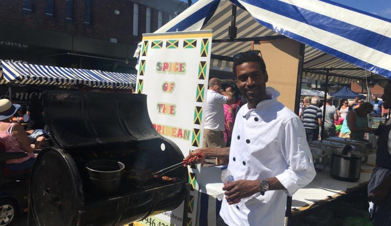 Nuneaton food festival a roaring success