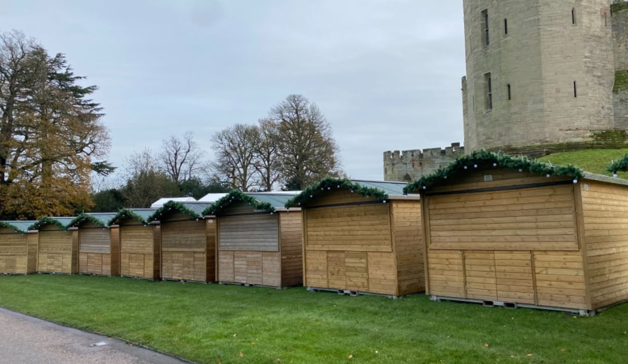Winter Markets at Warwick Castle to Continue