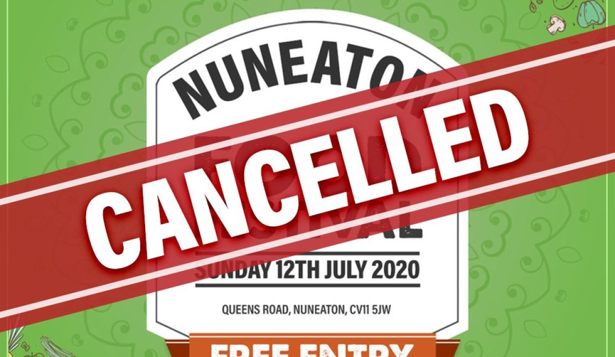 Nuneaton Food Festival Cancelled due to COVID-19