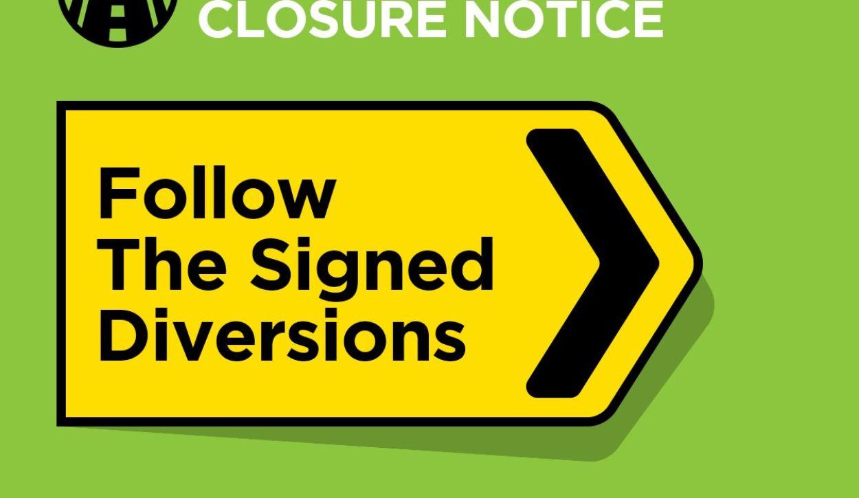 Road Closures for Warwick Folk Festival